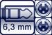 Klinkenbuchse 3p.<br>2x XLR female