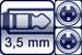Mini-Klinken-Buchse 3p.<br>2x XLR female