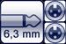 Klinke 2p. 6,3mm<br>2x XLR 3p. female