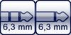 Klinke 3p.<br>Klinke 2p.